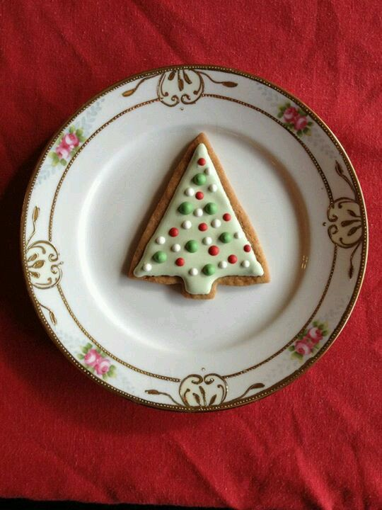 Decorated cookies Christmas tree | Decorated Cookies - Christmas/Wint ...