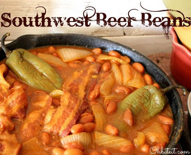 cans of Pinto Beans 2 Jalapeno Peppers A few slices of Bacon 1 Med ...