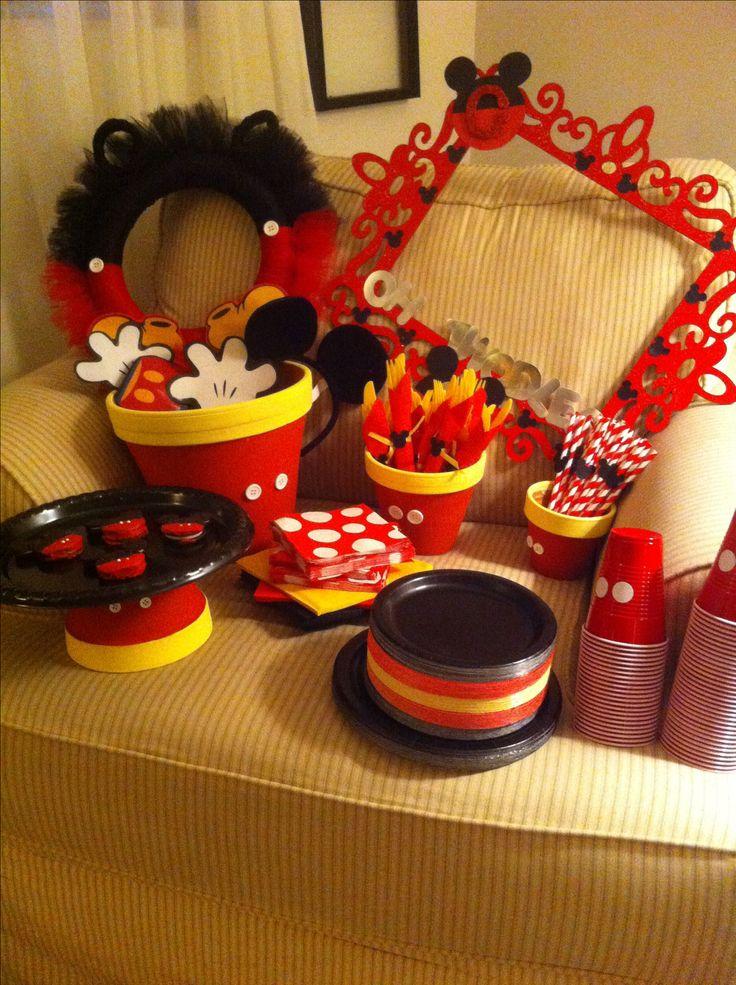 Handmade Mickey Mouse Invitations as beautiful invitations sample
