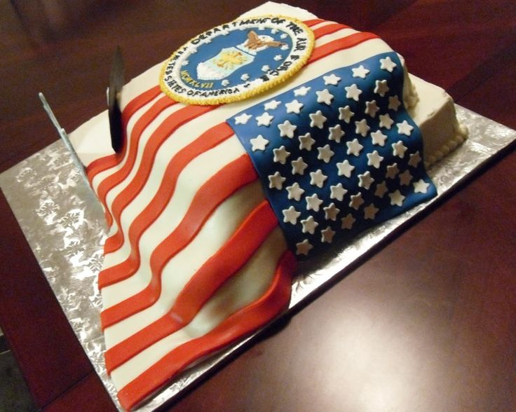 Cake Concepts by Cathy: Patriotic Cakes...a flag should look like a flag