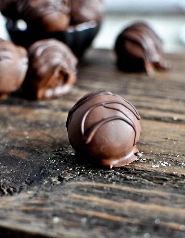 Chocolate Coconut Truffles candy