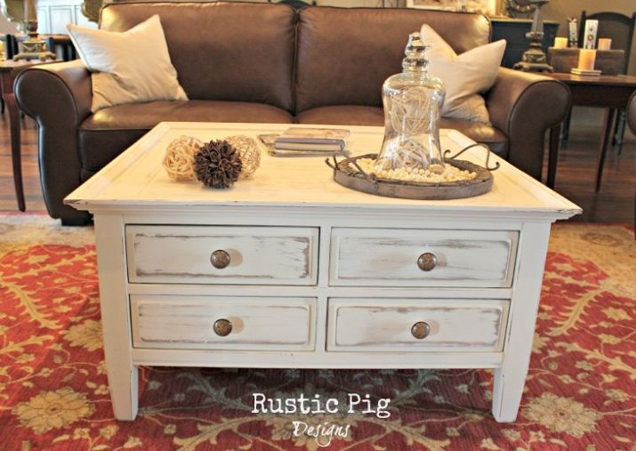 DIY Cottage Style Coffee Table So Thinking Of Painting My Coffee