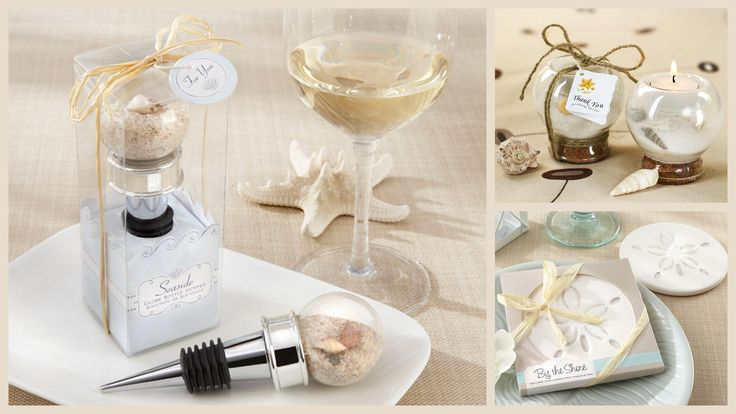 Beach Wedding Favors from HotRef.com