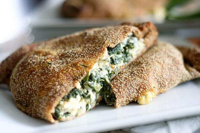 spinach calzone | yummy diet | Pinterest
