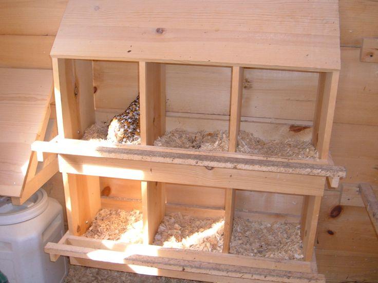 Chicken Nesting Boxes Coop De Ville Pinterest