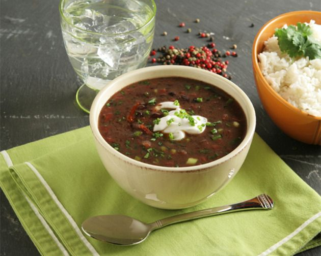 Spicy Black Bean Soup | Need to Feed | Pinterest