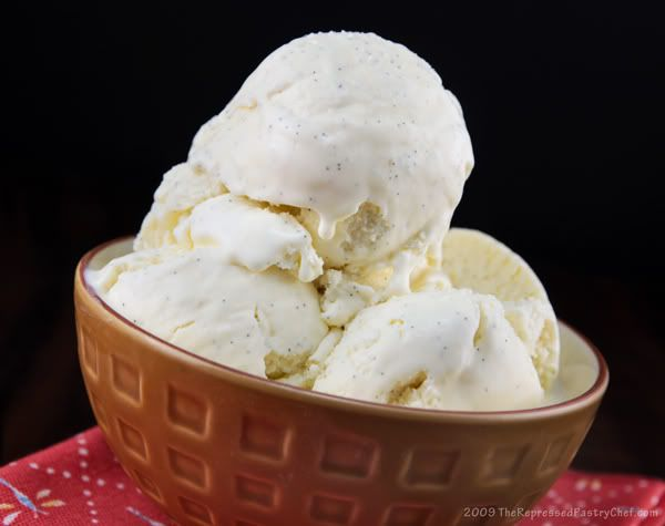 Vanilla Bean Ice Cream....BEST kind of ice cream :)