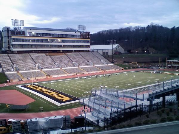 kidd brewer stadium appalachian state i love college