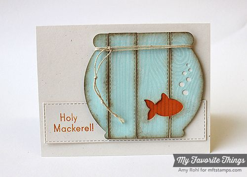 Die-namics, Vertical Stitched Strips Die-namics - Amy Rohl #mftstamps