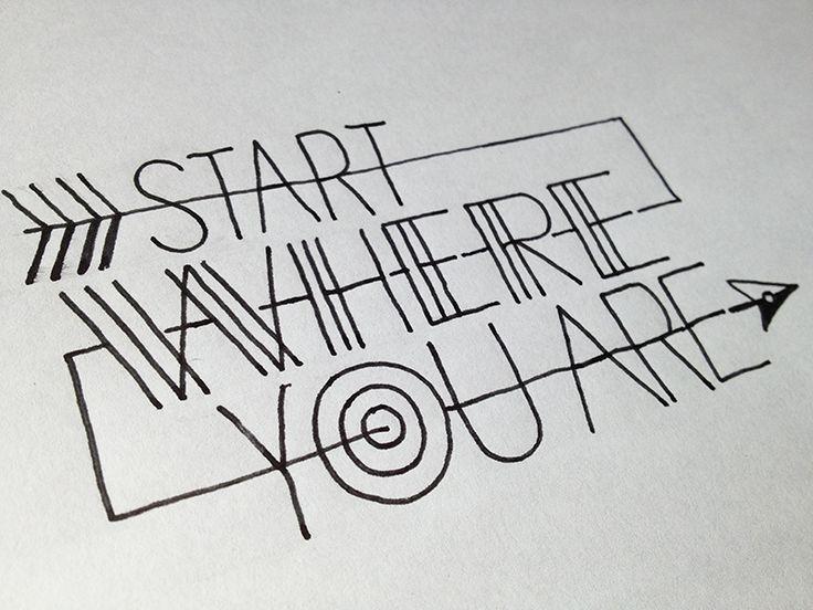 Typography Stay Enjoy Pinterest