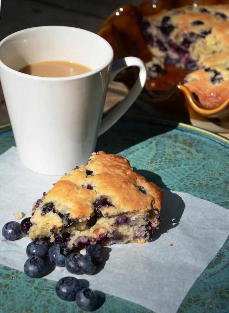 Blueberry Buttermilk Breakfast Cake   Foodies - Breakfast Club   Pint ...