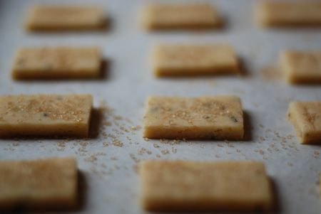 orange rosemary cornmeal shortbread - thinking these are a nice ...