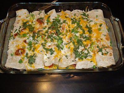 Chicken and White Bean Enchiladas with Creamy Salsa Verde Recipe ...