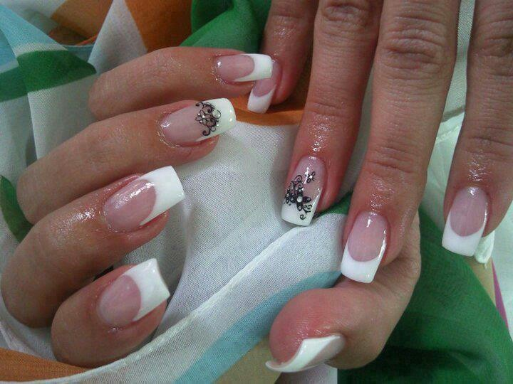 French tips  Nails!!!!  Pinterest
