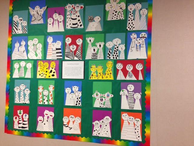 Flipzles class art projects art lesson ideas for Inspirational art project ideas