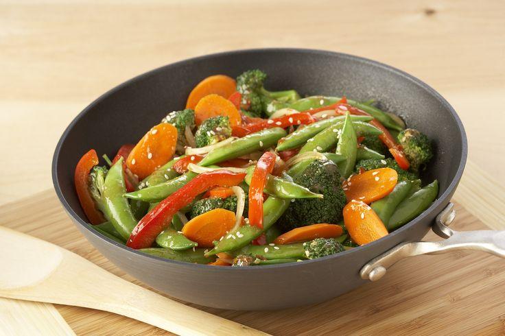 Prepare Stir-Fry Vegetables with the summer's #recipe #veggies