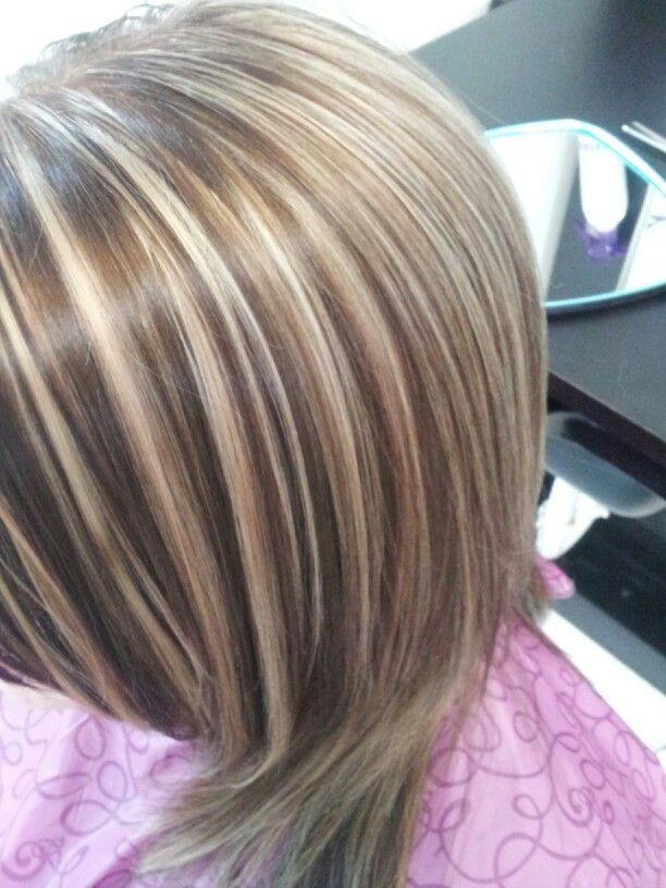 Blonde slice dimensions | hair color | Pinterest