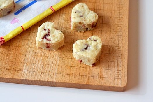 Dried Cranberry Shortbread - these look interesting, and they don't ...