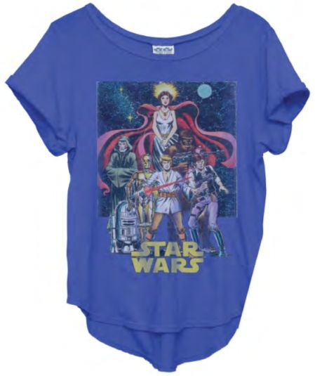 Junk Food Clothing - Star Wars Coffeehouse Tee - New Arrivals - Womens