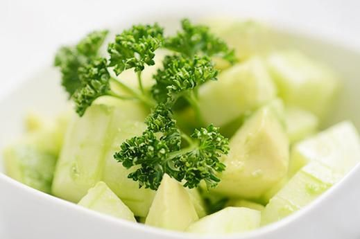 Cucumber and Avocado Salsa low calorie snacks,200 calorie snacks ...