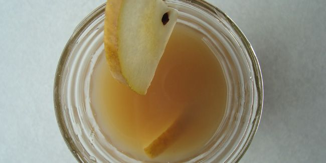 Pear and Ginger Hot Toddy