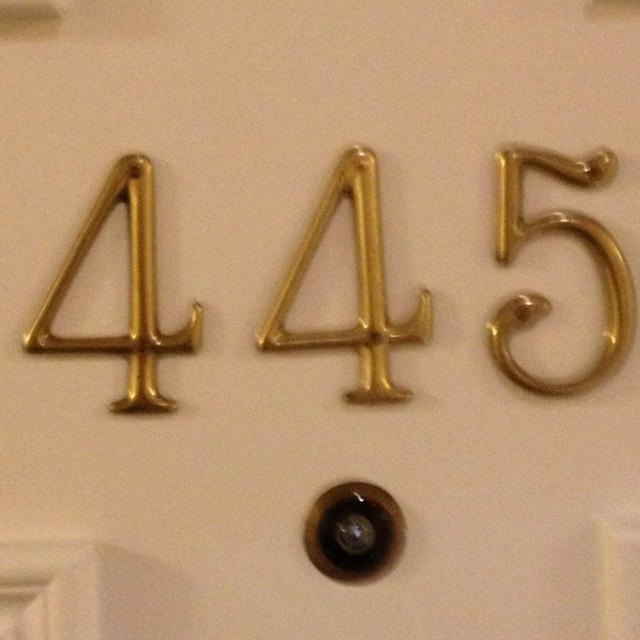 hotel room numbers Photo