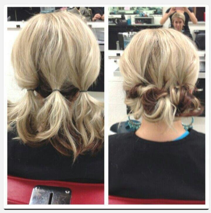 Красивые и лёгкие причёски на короткие волосы