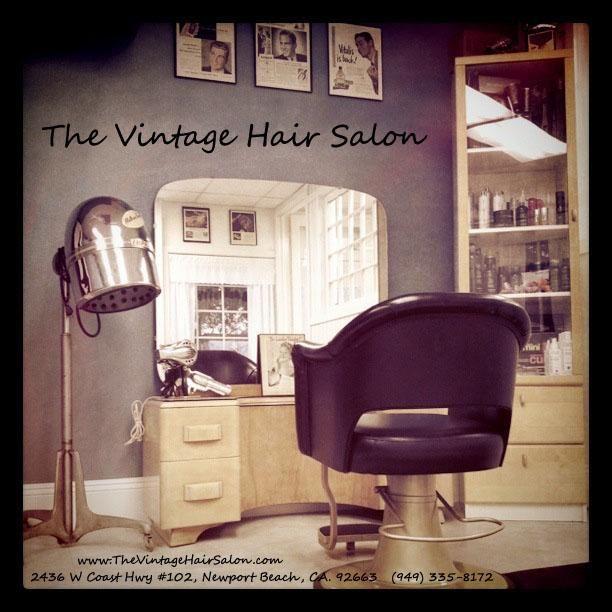 Vintage hair salon vintage hair dryers pinterest - Decoration salon vintage ...