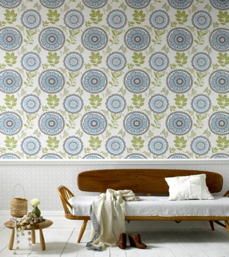 wallpaper   Designer: Amy Butler   Source: Stylecarrot/Graham & Brown