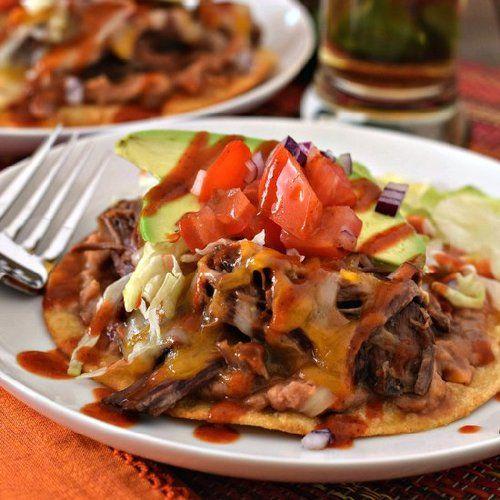 Beef Tostadas | Favorite Recipes | Pinterest