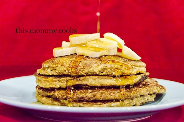 Gluten Free Banana Oat Pancakes | Favorite Recipes | Pinterest