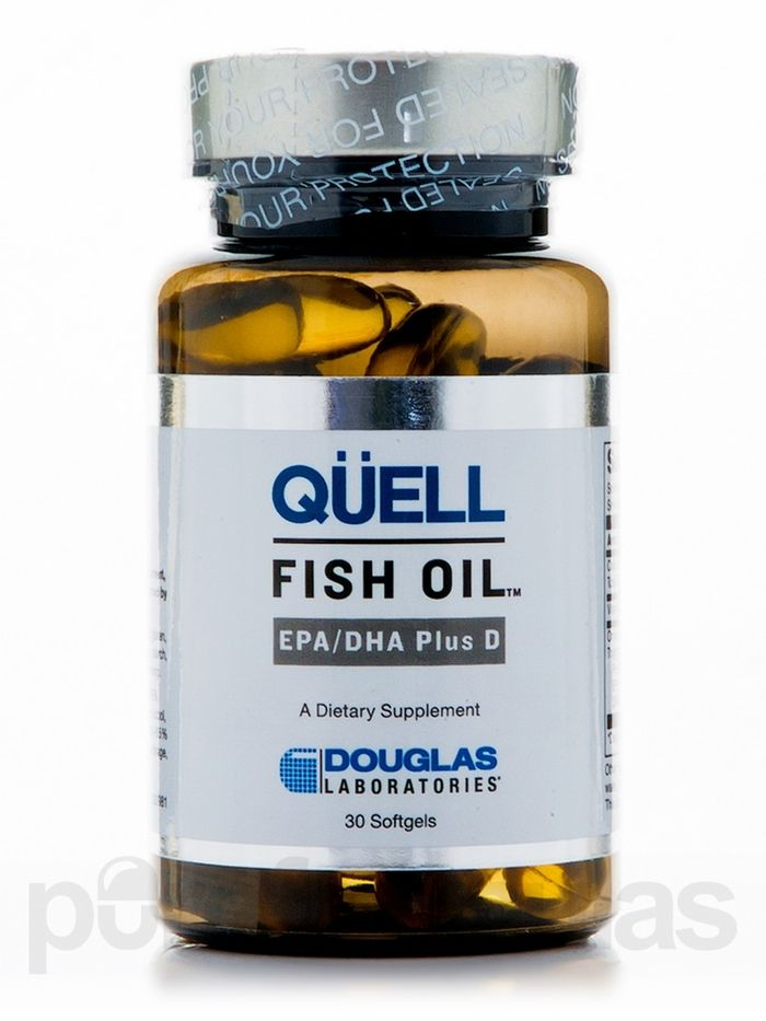 Douglas laboratories cardiovascular support quell fish for Epa dha fish oil