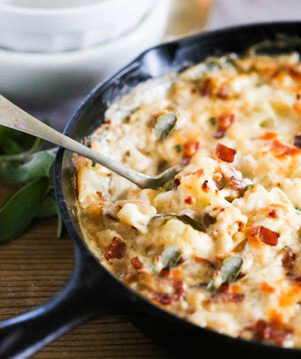 Roasted Garlic And Cheddar Cauliflower Gratin Recipes — Dishmaps