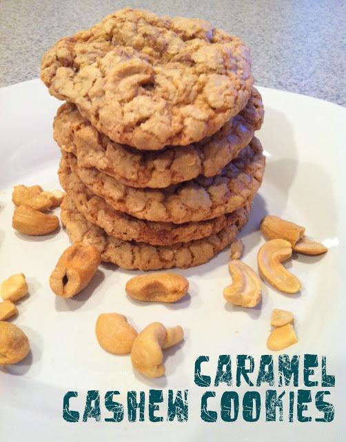 Caramel Cashew Cookies | Baking Creations and Treats | Pinterest