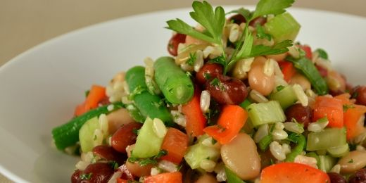 Rice and Bean Salad | Food & Drink Recipes | Pinterest