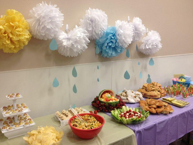 Baby Shower Buffet Table Jamie 39 S Baby Shower Pinterest