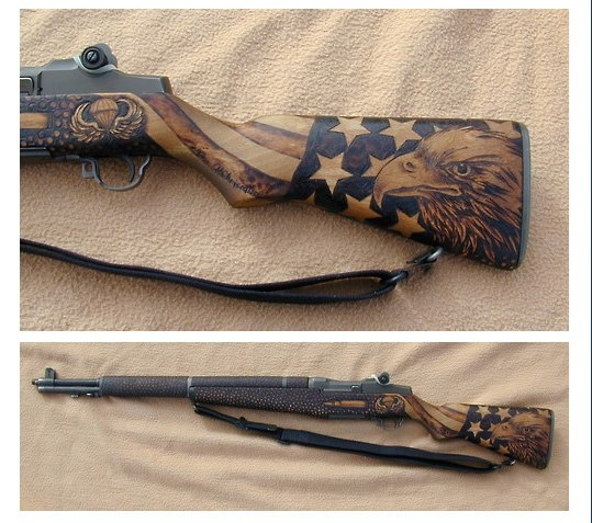 American Eagle  American Flag GunEagle American Flag Guns