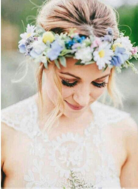 flower headband tumblr girl - photo #26