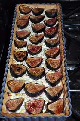 Fig and Goat Cheese Tart | Tarts & Galettes | Pinterest