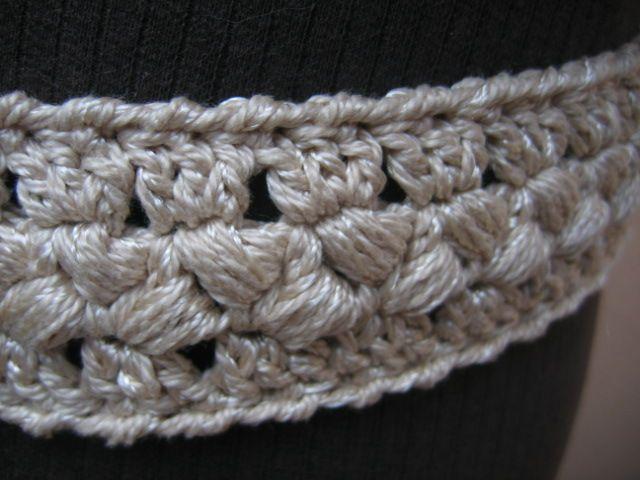FAÇA: CINTO DE CROCHÊ | Croche | Pinterest