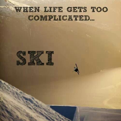 Ski Quotes, Skiing, Snow, Sayings for Skiers - Quote Garden