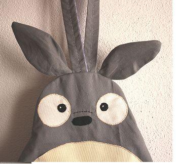Mochila de tela Totoro