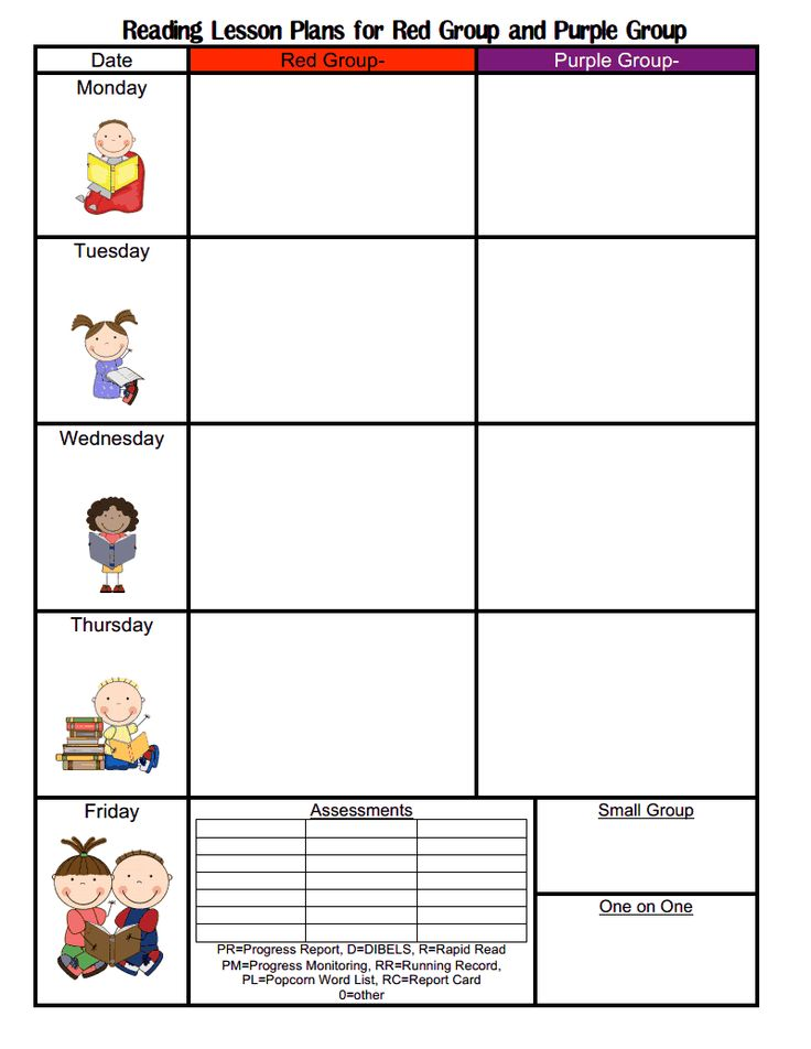 Blank Lesson Plan Template Itemroshop