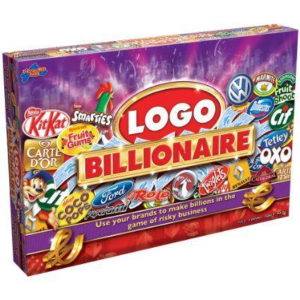 Logo Billionaire Board Game | Wish List | Pinterest