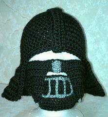 Knitting Pattern Darth Vader Hat : Darth Vader hat/helmet and cape Crochet Pinterest