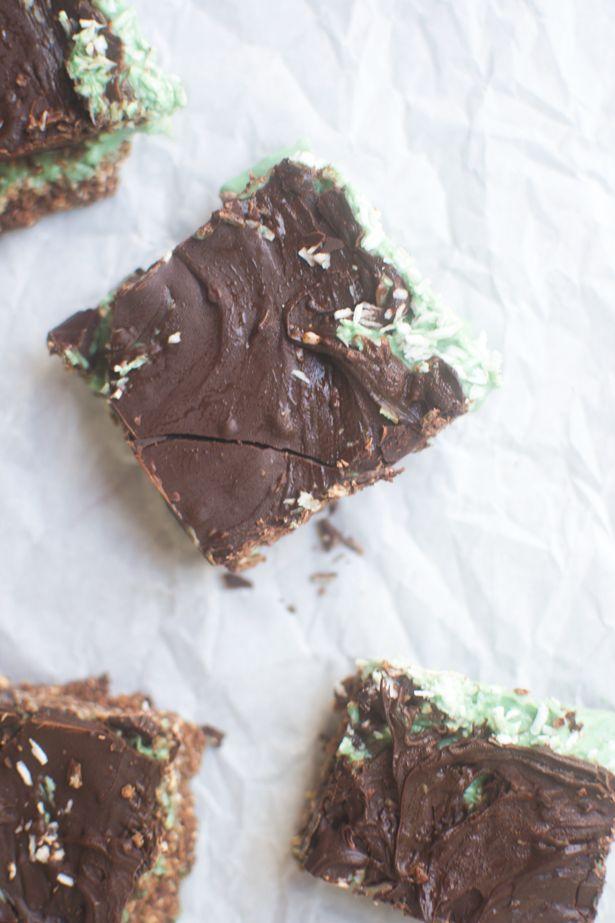 Thin mint & dark chocolate ice cream bars -- vegan + gluten-free | Re ...