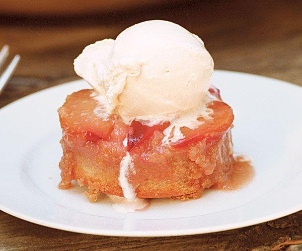 Plum Upside-Down Cakes | Recipe