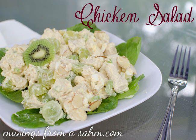 Delicious Almond Chicken Salad Recipe- Yum!!!
