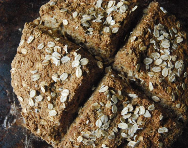 Rye & Oat Soda Bread | Making, Baking & Giving. | Pinterest
