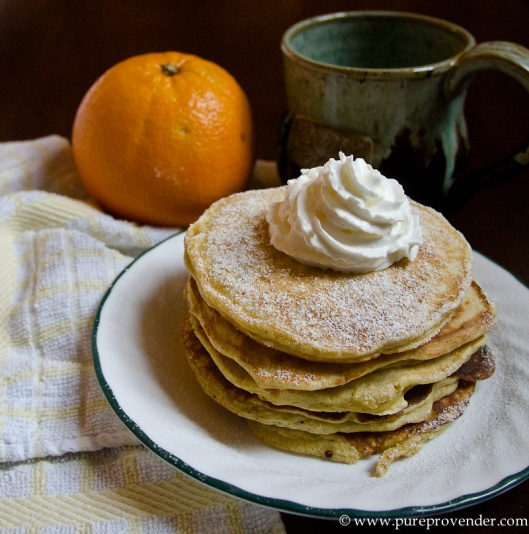 Orange Ricotta Pancakes | Food & Drink | Pinterest